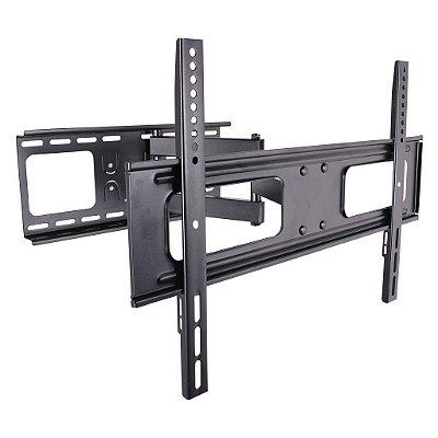 """Suporte ARTICULADO para TV LED, LCD, Plasma, 3D e Smart TV de 37"""" a 70"""" – Brasforma SBRP 642"""