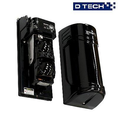 Sensor Ativo Barreira Feixe Duplo 30m - Dtech