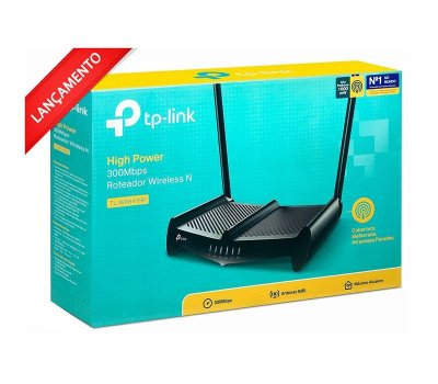 Roteador Wireless N 300mbps High Power 3 Antenas 8dbi Tl-wr 841hp TP-LINK wr841hp tp link