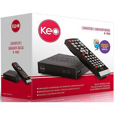 Conversor e gravador digital K900 Keo