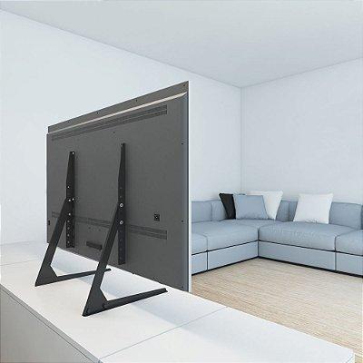 Suporte Base Mesa Pé Para Tv 32 A 65 Polegadas Multivisão Stand100