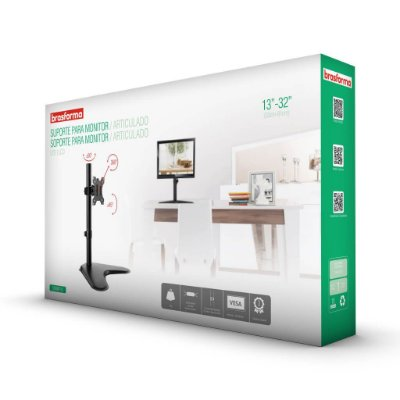 """Suporte Articulado para Monitor LED e LCD de 13″ a 32"""" – Brasforma SBRM 710"""