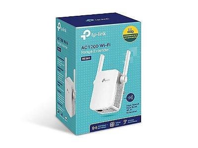 Repetidor Wi-Fi AC1200 RE 305  redes de 2.4GHz (300mbps) e 5GHz (867Mbps)