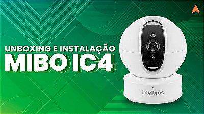 CAMERA INTELBRAS IP WIRELESS INTERNA HD MIBO IC4  ROTAÇÃO 360 GRAUS