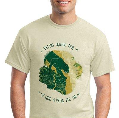 [PRÉ VENDA] Camiseta masc - Mogli, o menino lobo