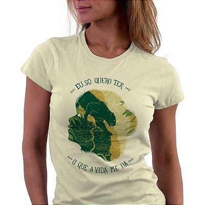 [PRÉ VENDA] Camiseta fem - Mogli, o menino lobo