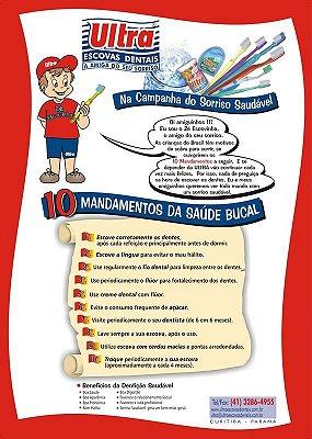 Cartaz 10 Mandamentos da Saúde Bucal