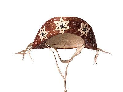 Chapéu de Couro Nordestino - Cangaceiro