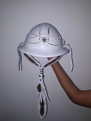 Chapéu de Couro Branco - Dominguinhos