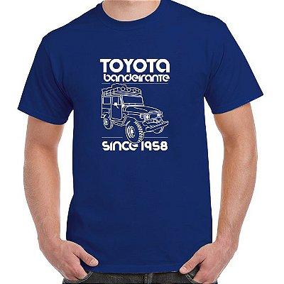 FR235 - Camiseta - TOYOTA BANDEIRANTE - SINCE 1958