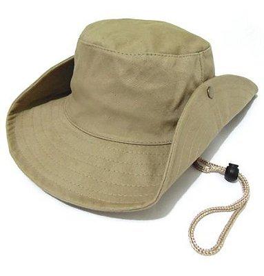 CB001 - Chapéu Safari Cáqui - Marca Joga