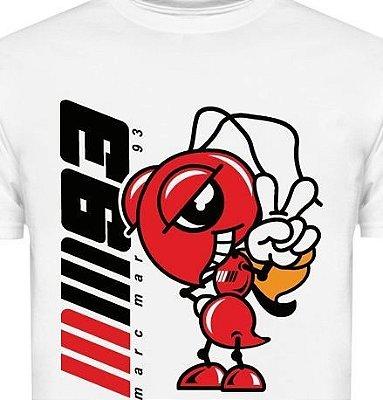 ES039 - Camiseta Estampa Piloto - Marc Marquez - Moto GP