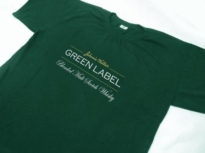 FR107 - Camiseta Estampa Johnnie Walker Green Label
