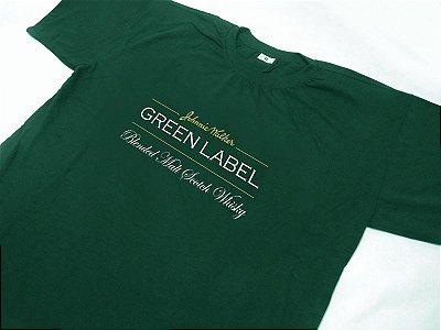 FR107 - Camiseta Estampa Johnnie Walker Green Label