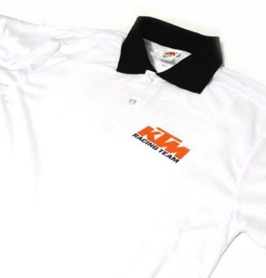 ES036 - Camisa Pólo Dry Fit - Estampa KTM Racing
