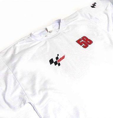 ES038 - Camiseta Estampa Marco Simoncelli 58 - MOTO GP
