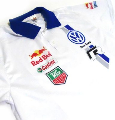 ES046 - Camisa Pólo Dry Fit - Estampa Volkswagen POLO Racing  WRC