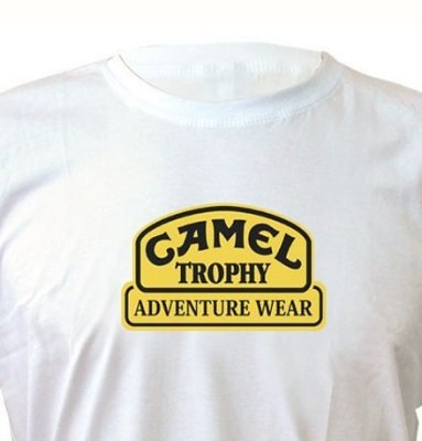 FR057 - Camiseta Estampa Camel Trophy On Life Live It - Off Road