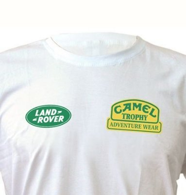 FR058 - Camiseta Estampa Camel Trophy  - Land Rover Off Road