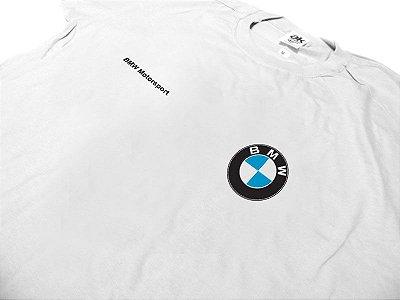 FR038 - A - Camiseta BMW MOTORSPORT - branca