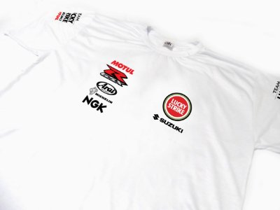 ES081-A - Camiseta Dry Fit - Team SUZUKI - MOTO GP
