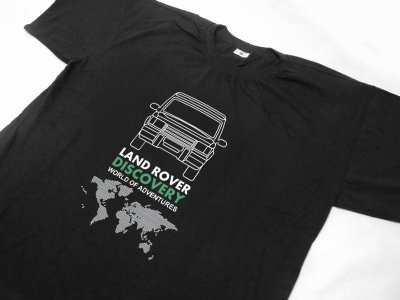 FR133 - Camiseta - LAND ROVER DISCOVERY
