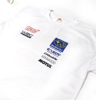 ES064 - Camiseta - Estampa WRC Subaru World Rally Team