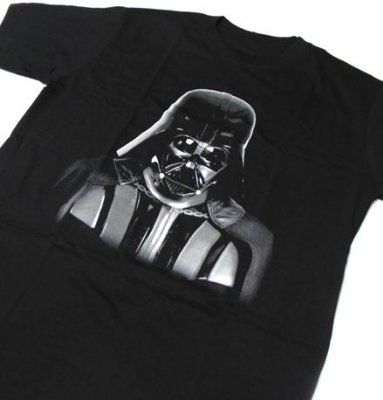 MH018 - Camiseta Estampa DARTH VADER - em SILK