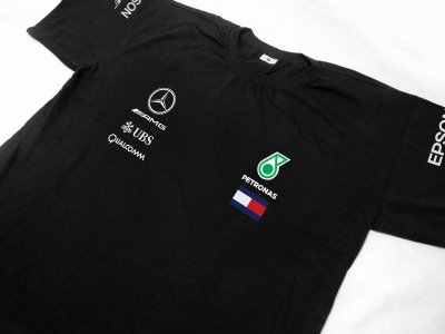 FR170 - Camiseta - Mercedes PETRONAS F1 - Base 2018