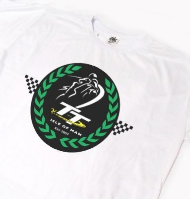 ES076 - Camiseta - Estampa TT ISLE OF MAN  4 - Manx Grand Prix Festival