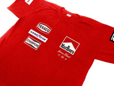 FR174 - Camiseta MCLAREN 76 - JAMES HUNT