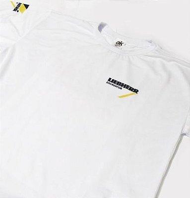 MK036 - Camiseta Dry Fit - Estampa LIEBHERR EXCAVATOR