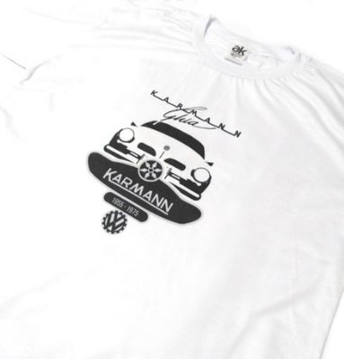 MK038 - Camiseta - Estampa VOLKSWAGEN KARMANN GUIA 1955-1975