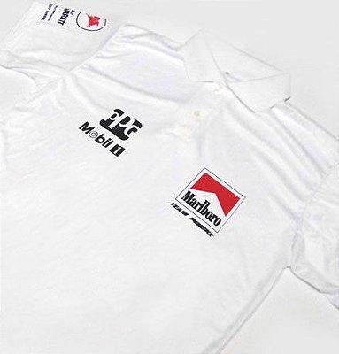 ES084 - Camisa Pólo Dry Fit - Estampa MARLBORO TEAM PENSKE - F INDY