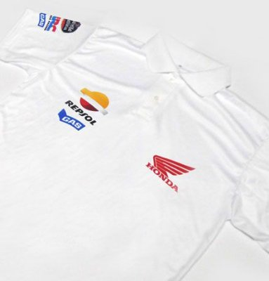 ES103 - Camisa Polo Dry Fit - Honda Repsol - MOTO GP