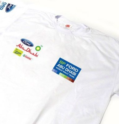 ES105 - Camiseta Estampa FORD RALLY WRC