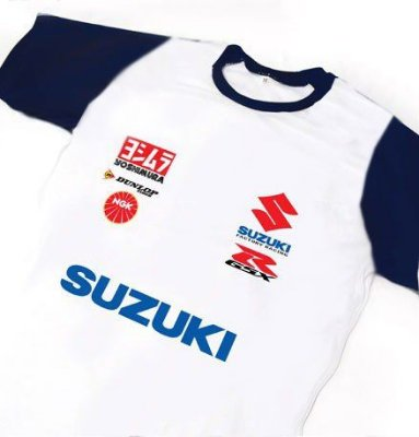ES112 - Camiseta Dry Fit - Estampa SUZUKI - MOTO GP