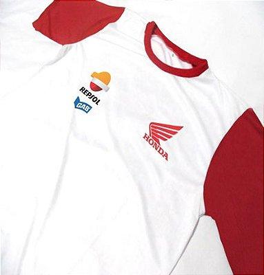 ES115 - Camiseta Bicolor Dry Fit - Honda Repsol - MOTO GP