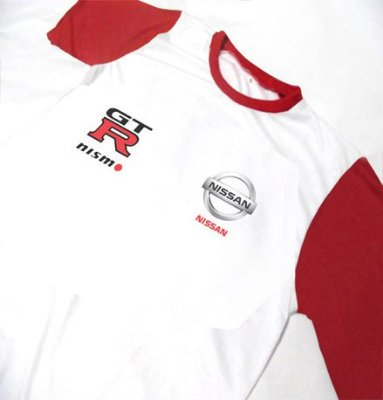 ES119 - Camiseta Bicolor Dry Fit - NISSAN GTR NISMO