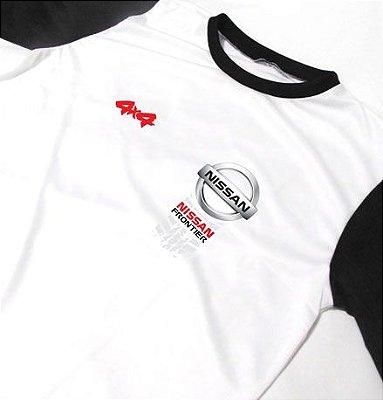 ES121 - Camiseta Bicolor Dry Fit - Estampa Nissan Frontier 4x4