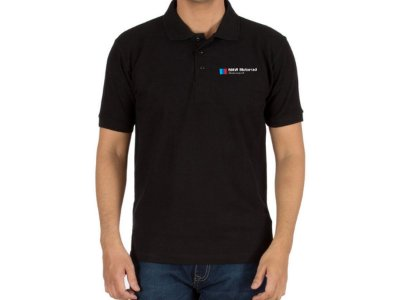 FR196P - Camisa Polo Piquet - BMW MOTORRAD - Estampa FRONTAL