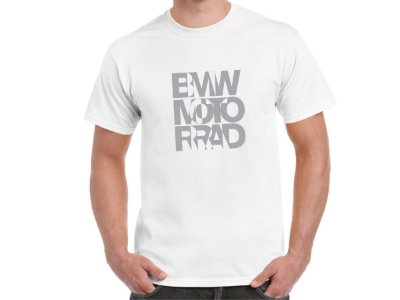 FR197 - Camiseta BMW MOTORRAD VIRTUAL - Estampa FRONTAL
