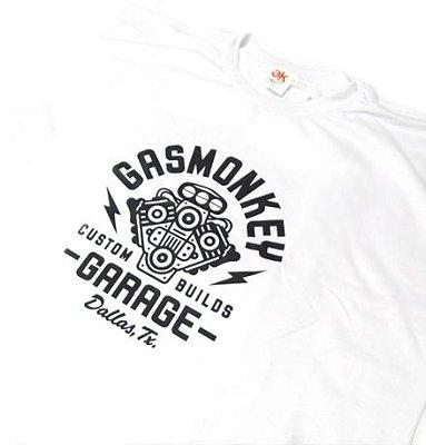 SE003 - Camiseta Estampa - GAS MONKEY GARAGE