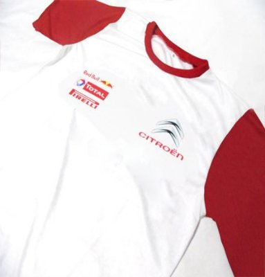 ES158 - Camiseta Bicolor Dry Fit - CITROEN RACING TEAM WRC