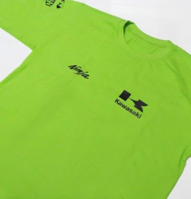 FR002-A Camiseta KAWAZAKI NINJA RALLY TEAM Manga Longa - MOTO GP
