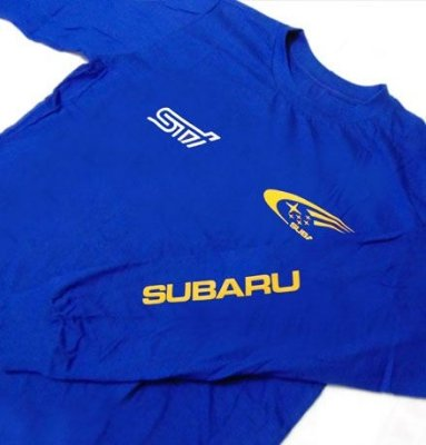 FR004-A - Camiseta Manga Longa - SUBARU WORLD RALLY