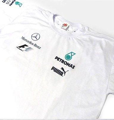 ES162 - Camiseta Dry Fit - Mercedes PETRONAS F1