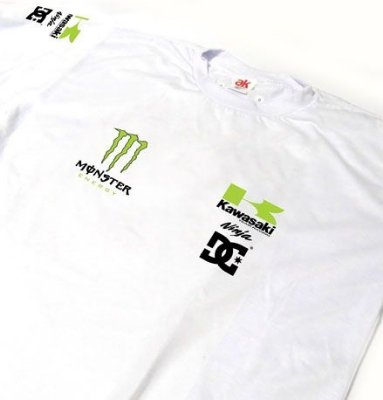 ES163 - Camiseta Dry Fit - KAWASAKI NINJA - MOTO GP
