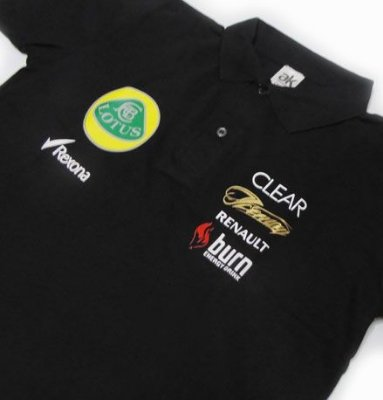 FR016 - Camisa Pólo Piquet - LOTUS F1 Team Racing