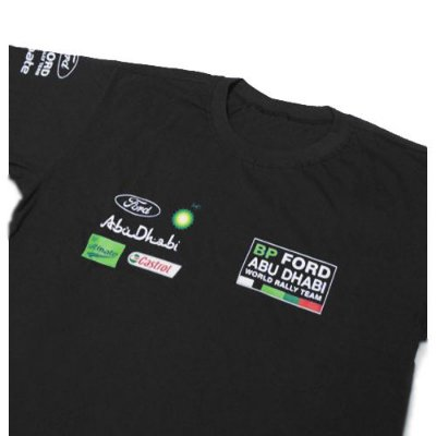 FR018 - Camiseta BP FORD World Rally Team - WRC ABU DHABI